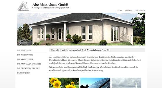 Abé Massivhaus GmbH - Architekturbüro - Werne